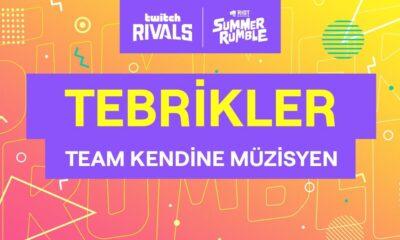 Team Kendine Müzisyen Twitch Rivals x Riot Games Summer Rumble şampiyonu!