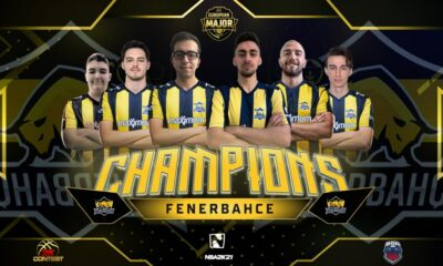 2K European Major League şampiyonu 1907 Fenerbahçe Espor!