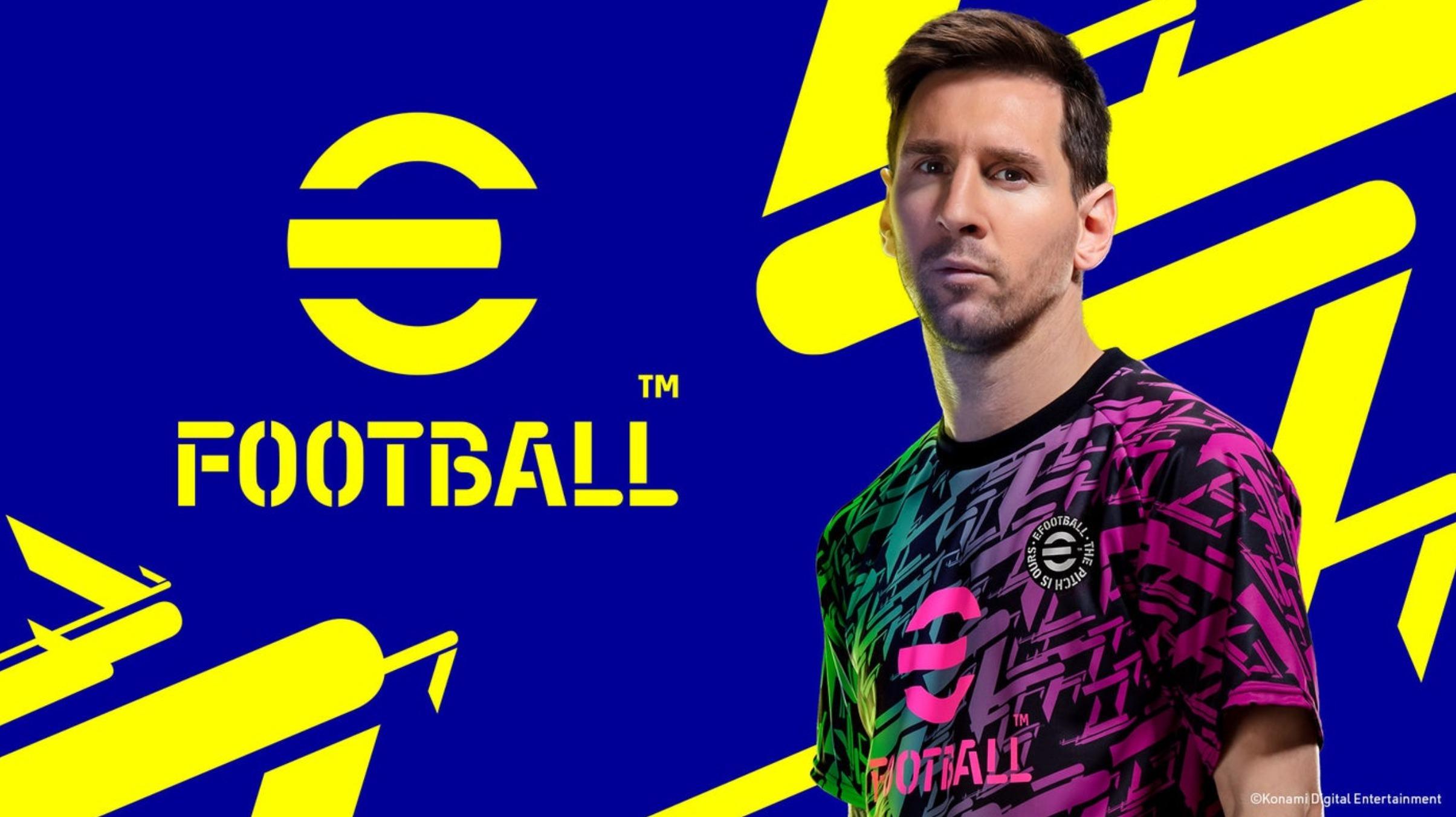 PES serisinin yeni ücretsiz oyunu eFootball detayları sizlerle!