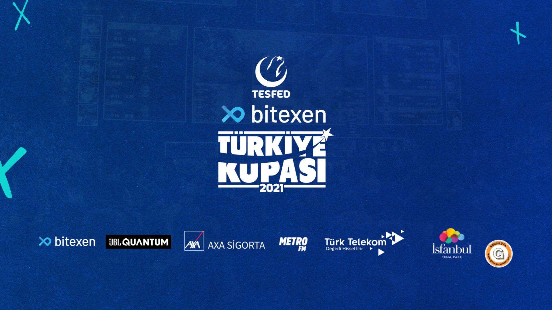 Bitexen TESFED Türkiye Kupası bu yıl üçüncü kez 11 farklı oyunda düzenlenecek