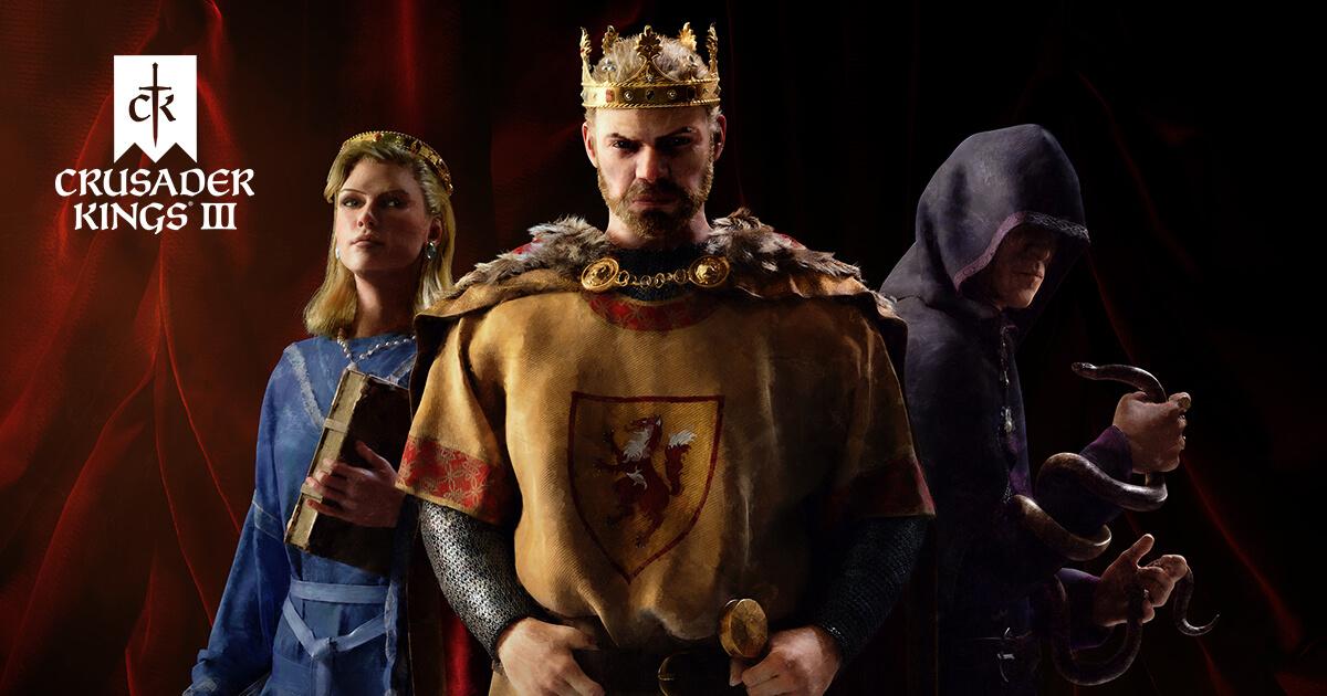 Crusader Kings III Xbox Series X-S Playstation 5