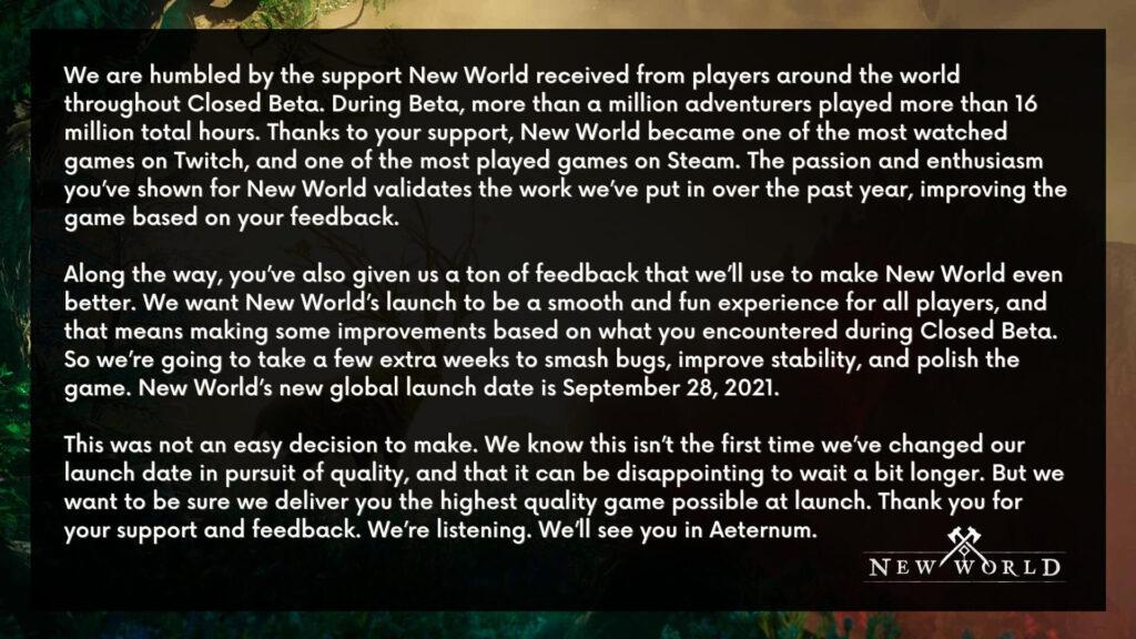 New World Amazon