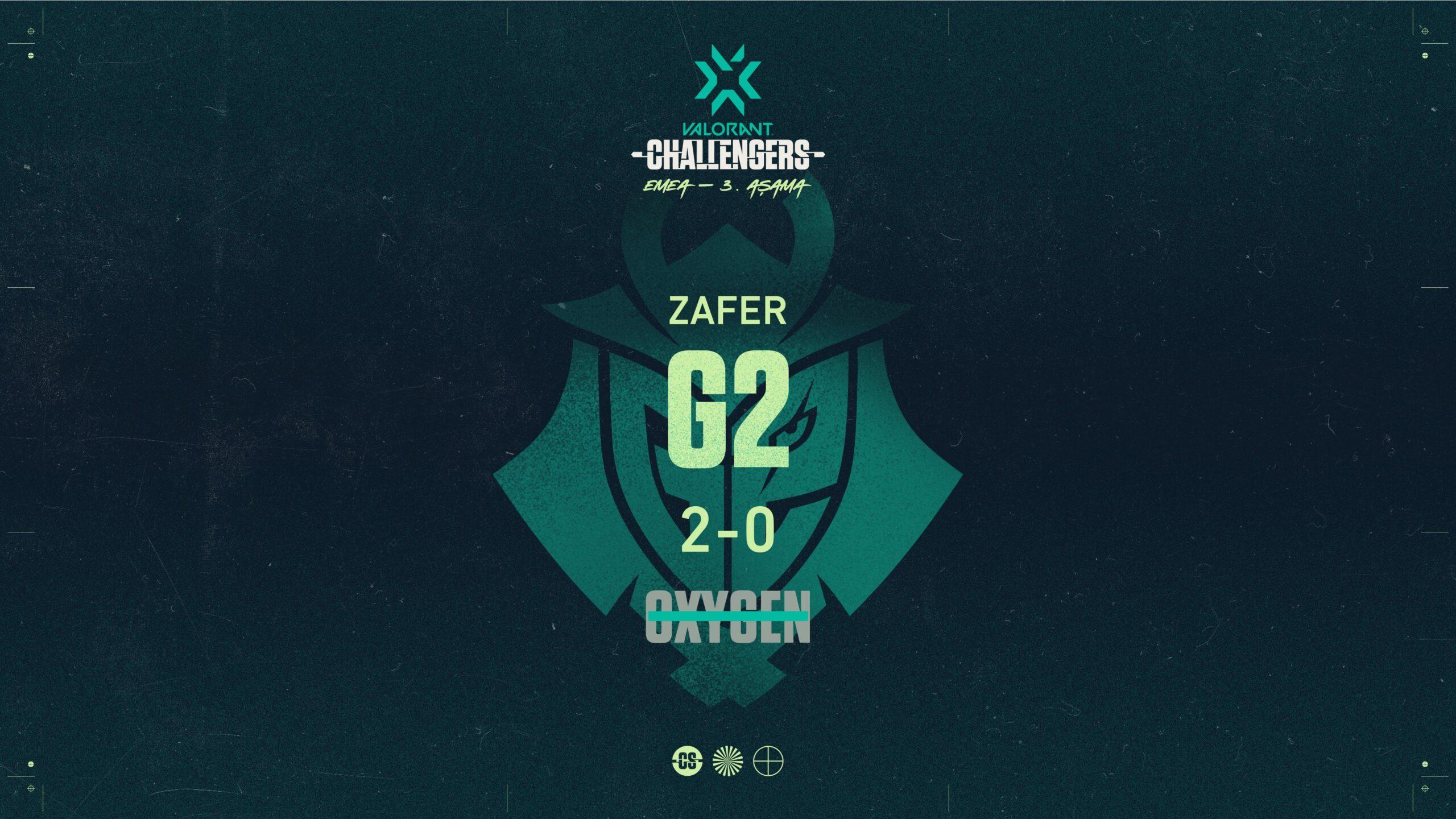 Oxygen Esports G2 Esports