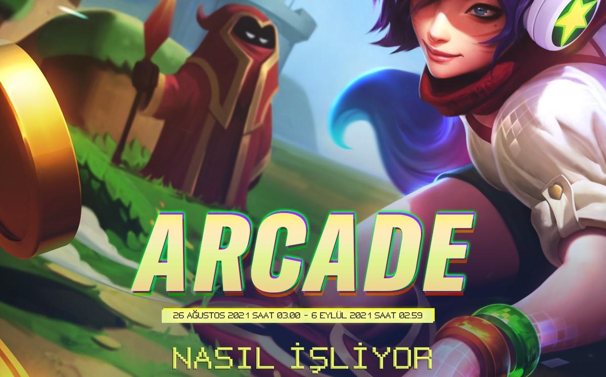Wild Rift Arcade etkinliği