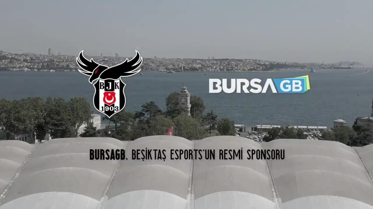 Beşiktaş Esports, BursaGB ile bir işbirliğine imza attı