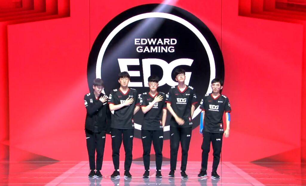 EDward Gaming 2021 Dünya Şampiyonası