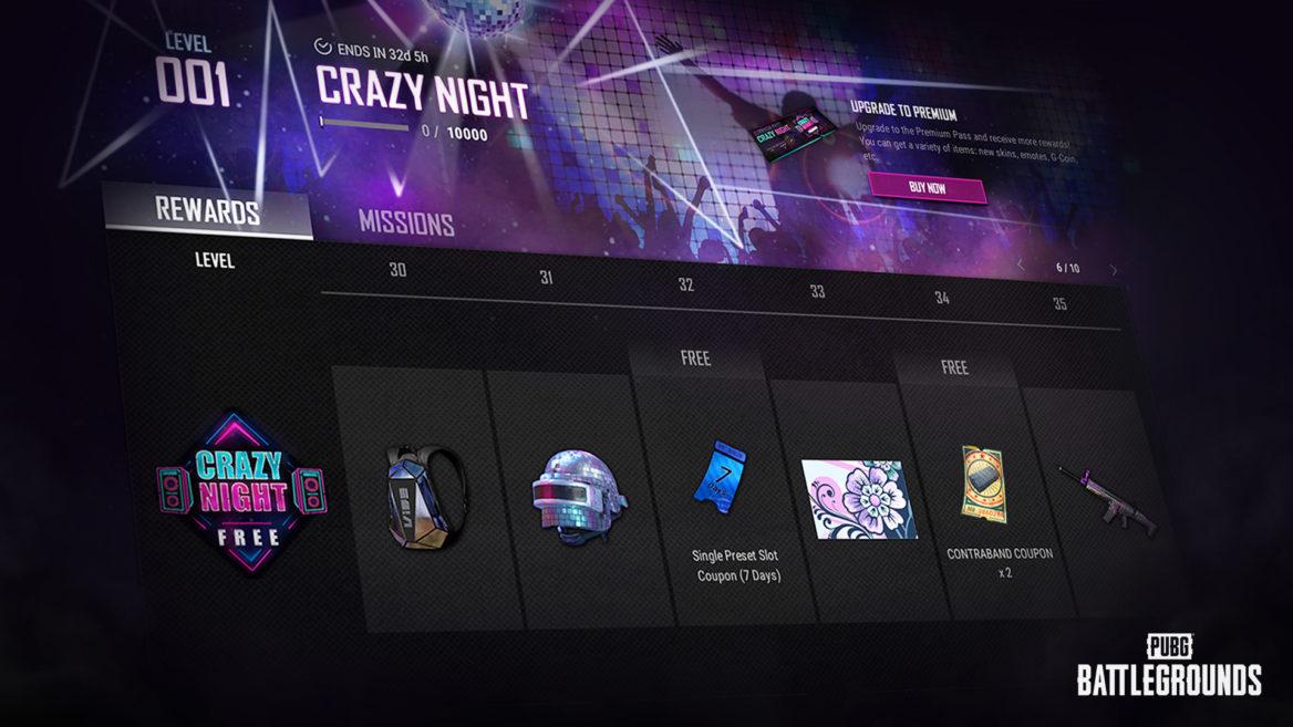 PUBG Crazy Night