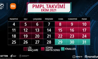 PUBG Mobile Pro League Türkiye Sezon 2 etkinlik takvimi