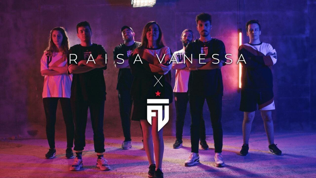 Futbolist Raisa Vanessa işbirliğini duyurdu