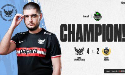 Intel Monsters Reloaded Rocket League Turnuvası Şampiyonu SuperMassive Blaze!