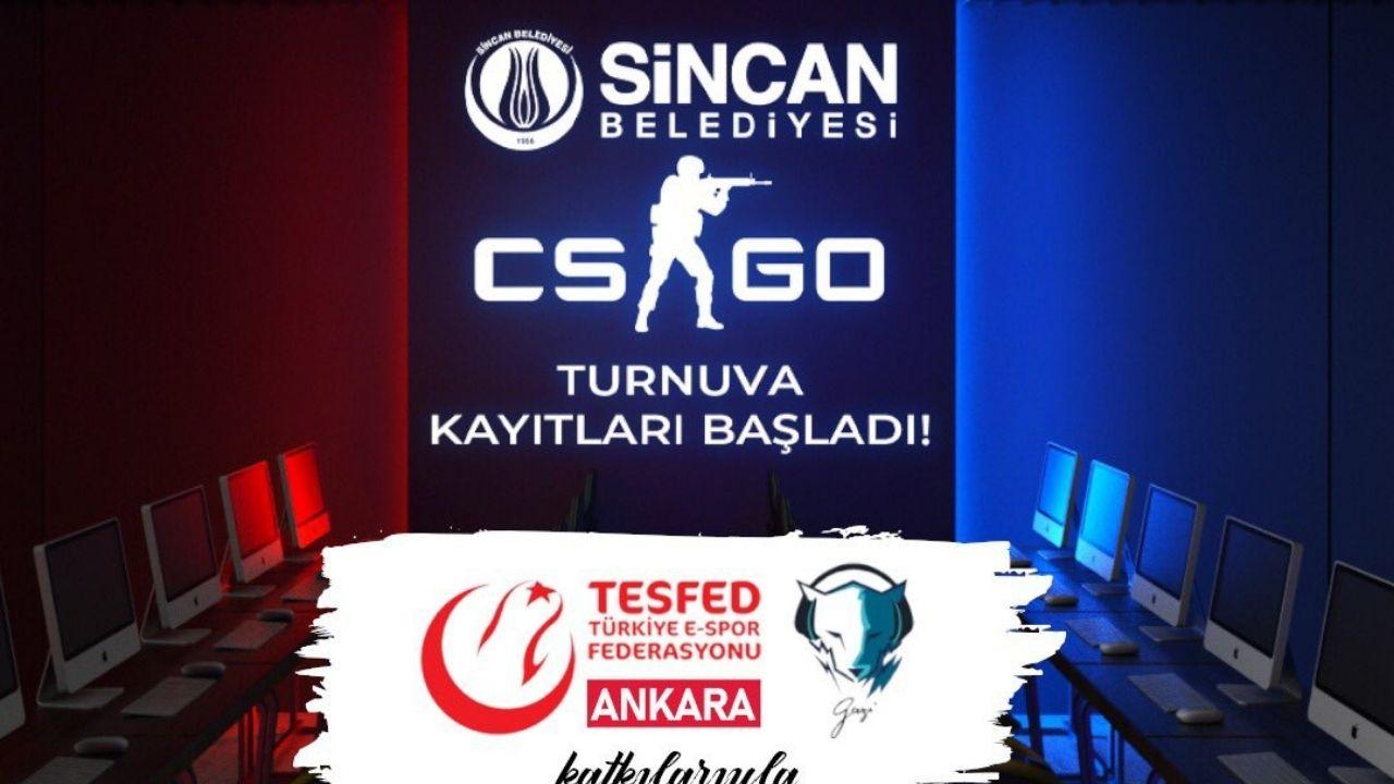 Sincan CS:GO E-Spor Turnuvası başvuruları başladı!