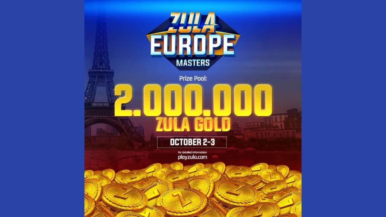 Zula Europe Masters turnuvası için geri sayım başladı