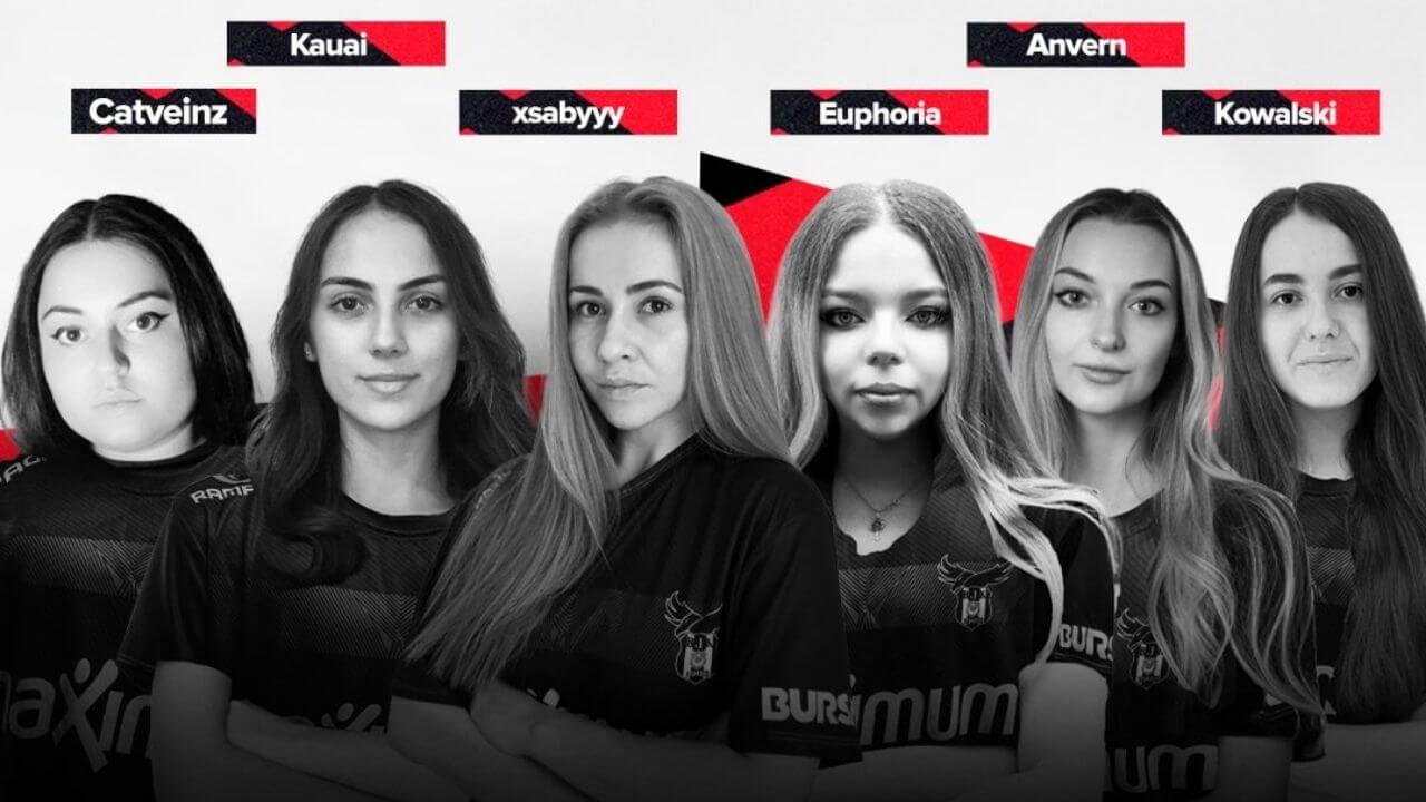 Beşiktaş Esports kadın PUBG Mobile takımı tanıtıldı