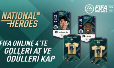 FIFA Online 4 yeni National Heroes sınıfına özel bir yarışma düzenliyor