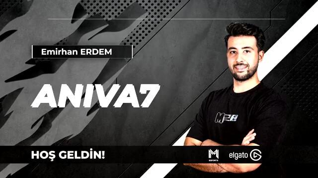 """Team Demiral Esports FIFA kadrosunu Emirhan """"Aniva7"""" Erdem ile güçlendirdi"""